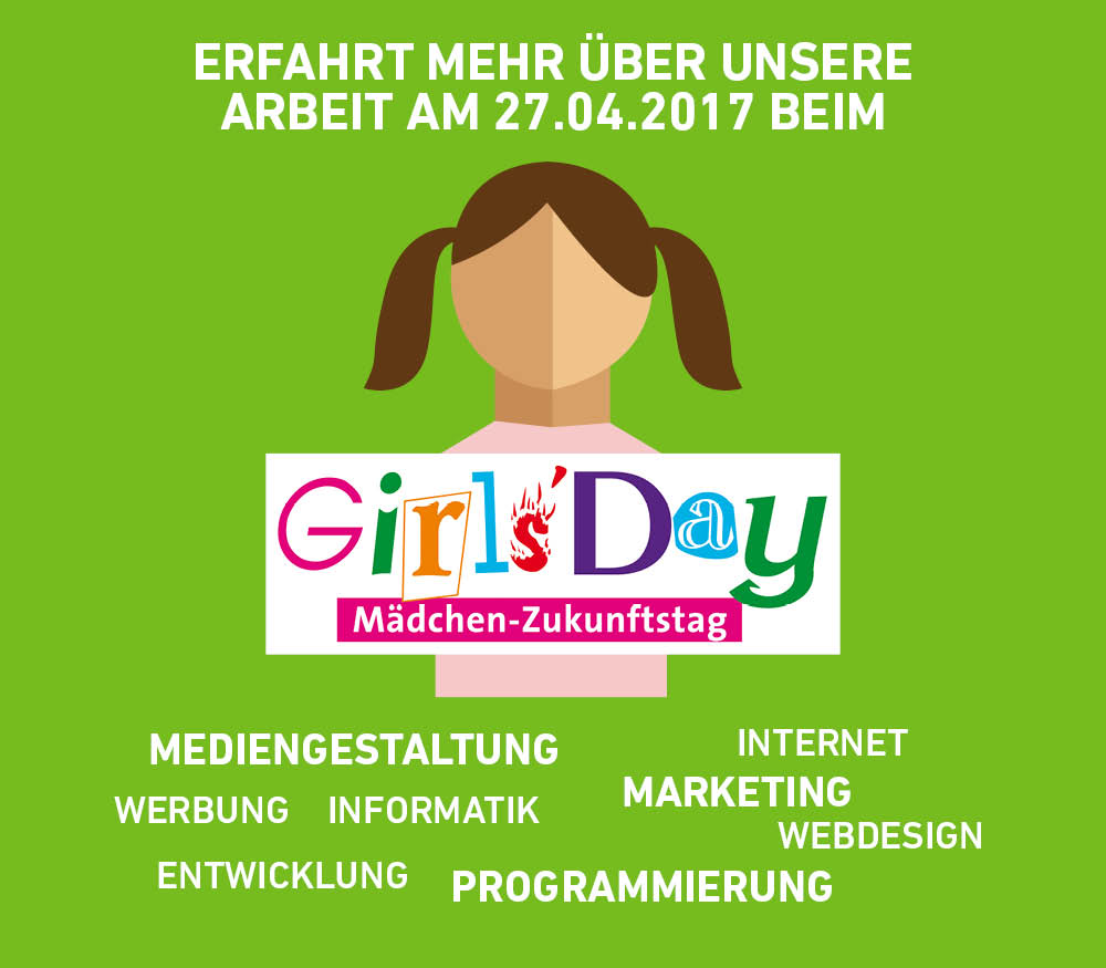 Girls'Day am 27.04.2017 bei der BIT IT